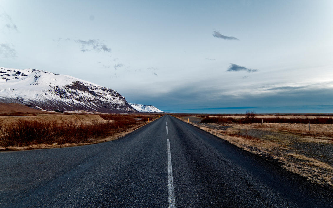 Icelandic Road by Nitrogliserin