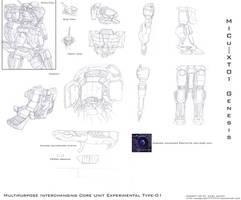 Mecha Concept 01 by yamatoworks