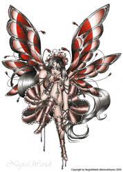 Gothic fairy by NegraWaridi