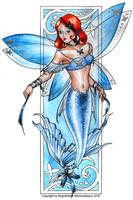 Mermaid fairy by NegraWaridi