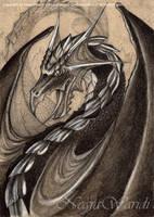 Black Dragon by NegraWaridi