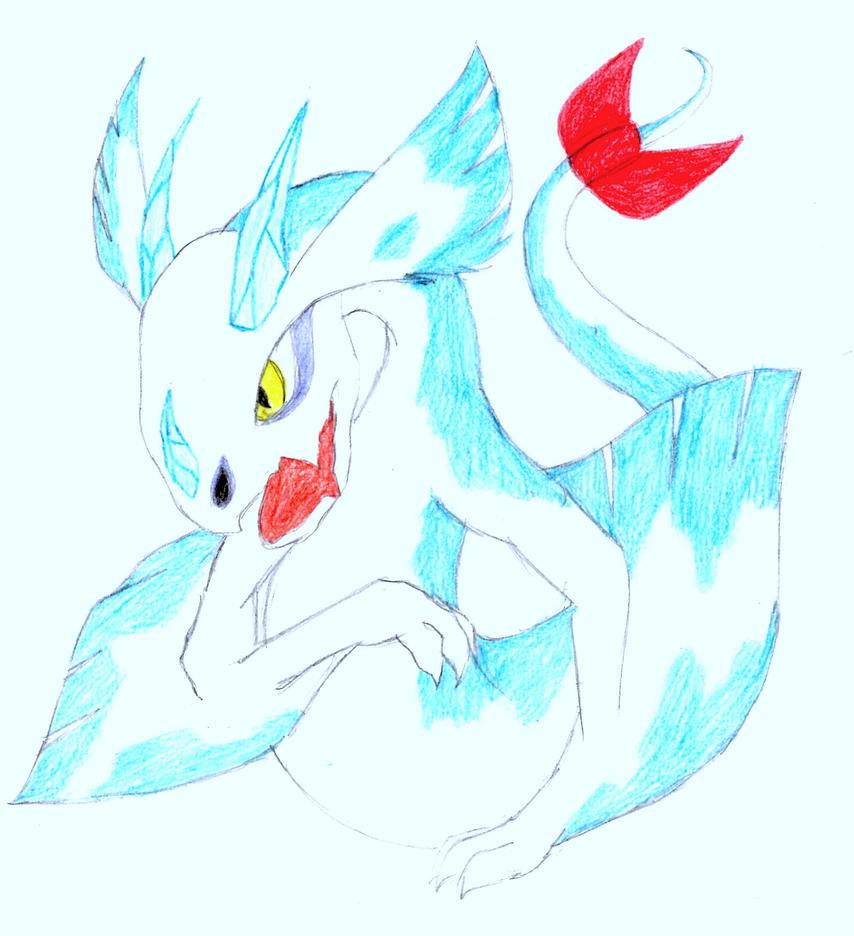Froslass Dragon by Dragoonzia