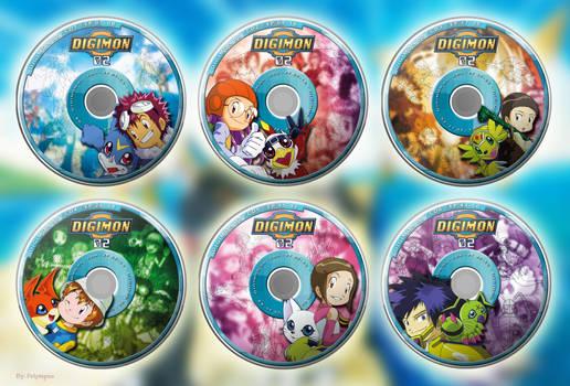 Digimon Adventure 02 - DVD Box Set (templates set)