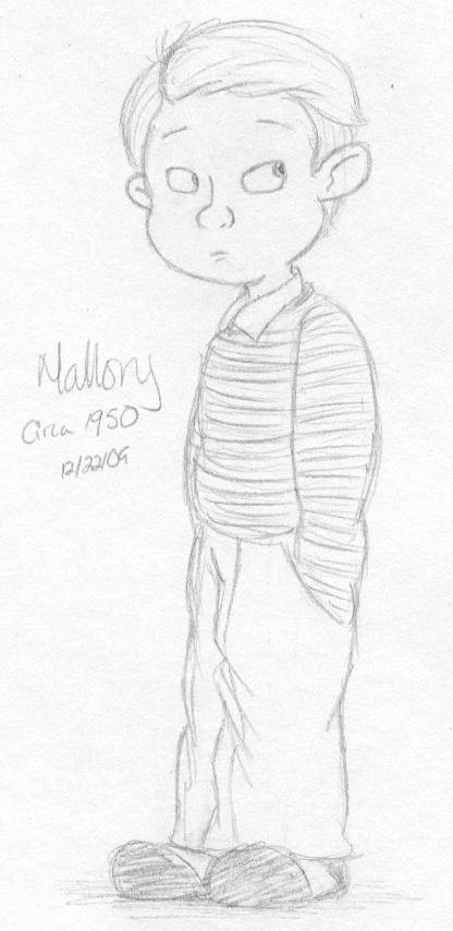Mallory cir. 1950 by VinDeamer