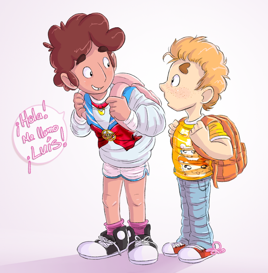 first day of school 062015 by VinDeamer