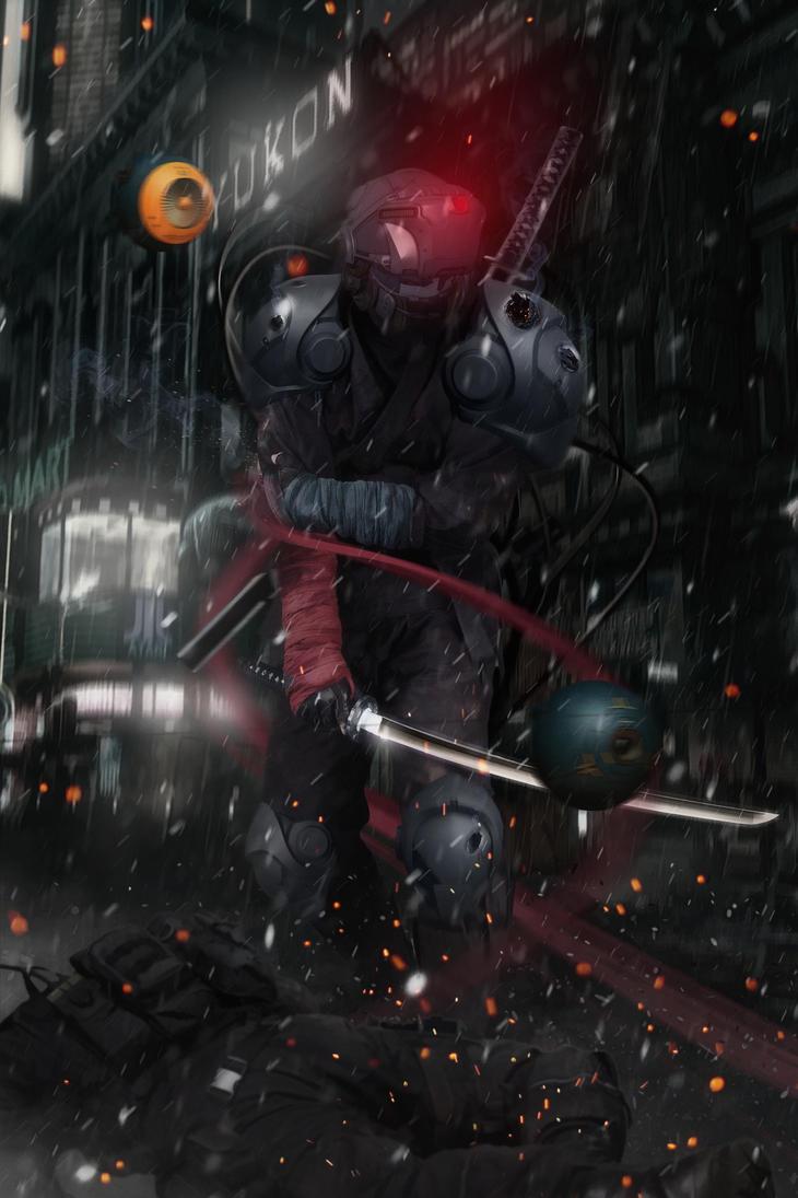 ninja v.2 by KingofCrow09