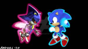 Sonic CD 27th Anniversary image recreation
