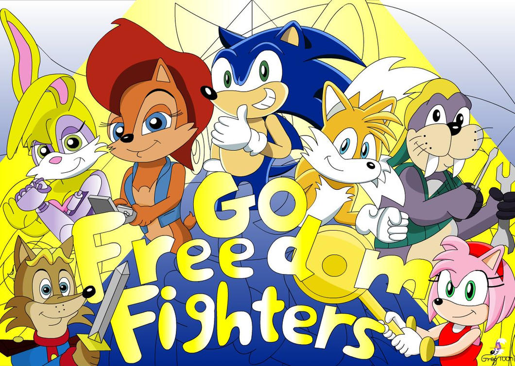 Go freedom fighters by GregTOON07