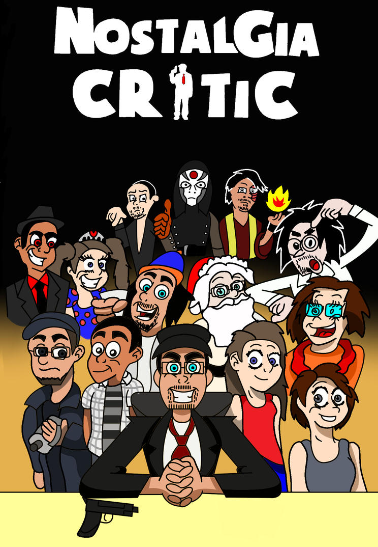 Nostalgia Critic cover contest by GregTOON07