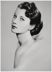 Vivien Leigh by Ladowska