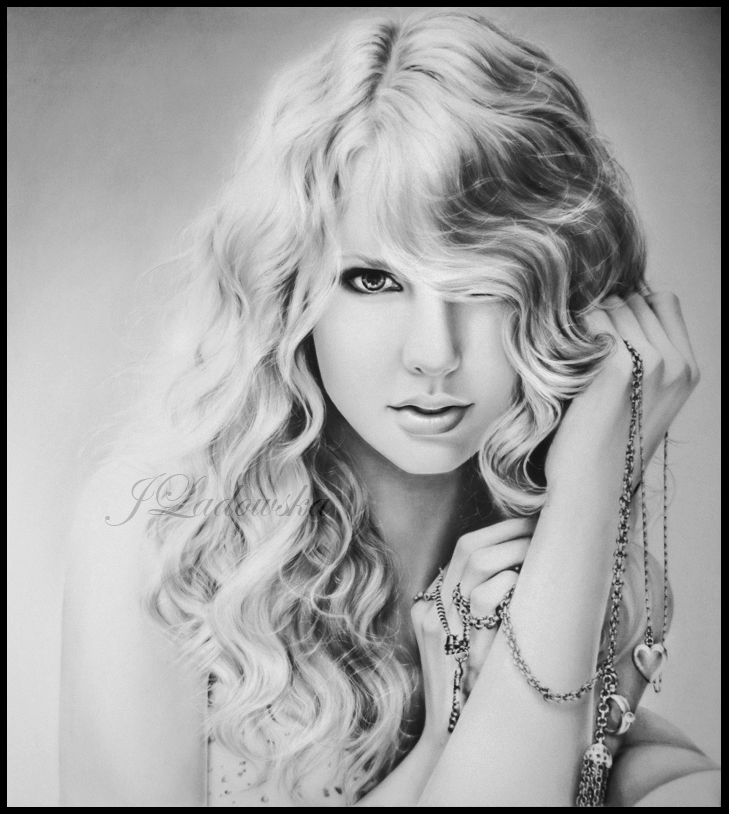 Taylor Swift by Ladowska