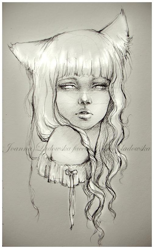 Fox girl by Ladowska