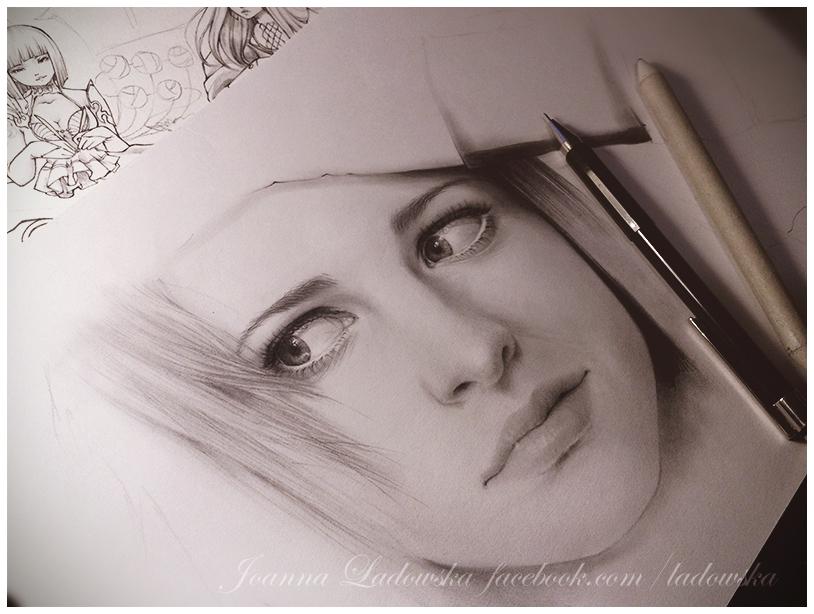 Hayley wip! by Ladowska