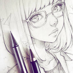 Glasses by Ladowska