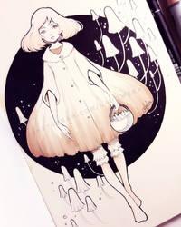 Mushrooms by Ladowska