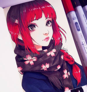 Sakura Scarf
