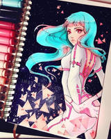 Space Girl by Ladowska