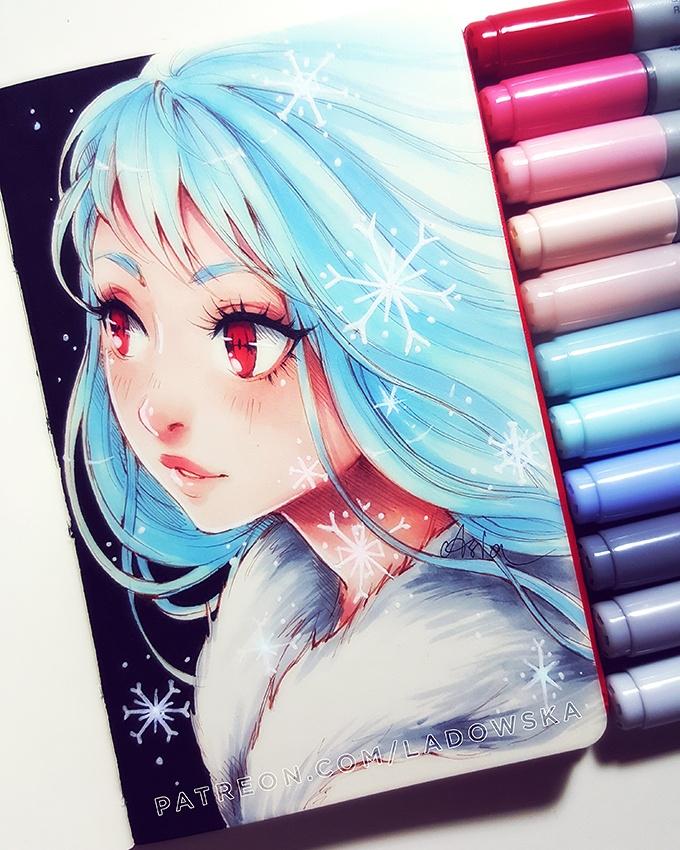 Frost by Ladowska