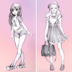 Anime vs Real? by Ladowska