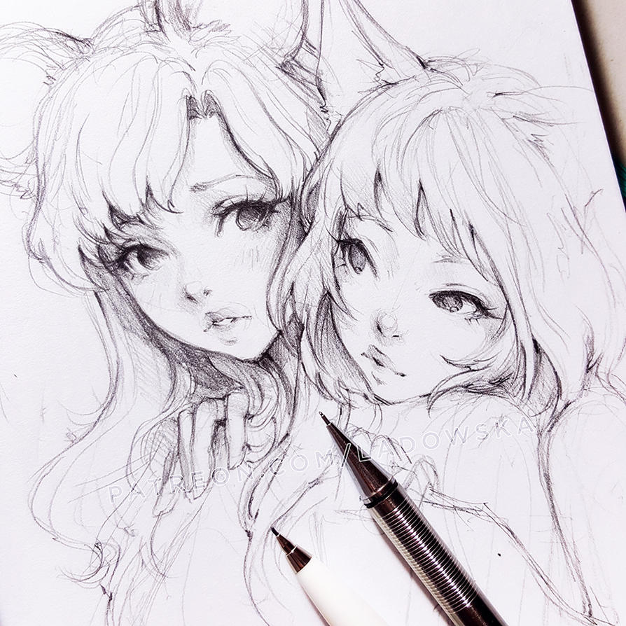 Asian Girl Sketch