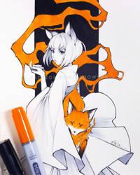 Fox by Ladowska