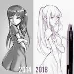Draw this again: 2014 vs 2018