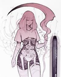 Inktober #7 by Ladowska