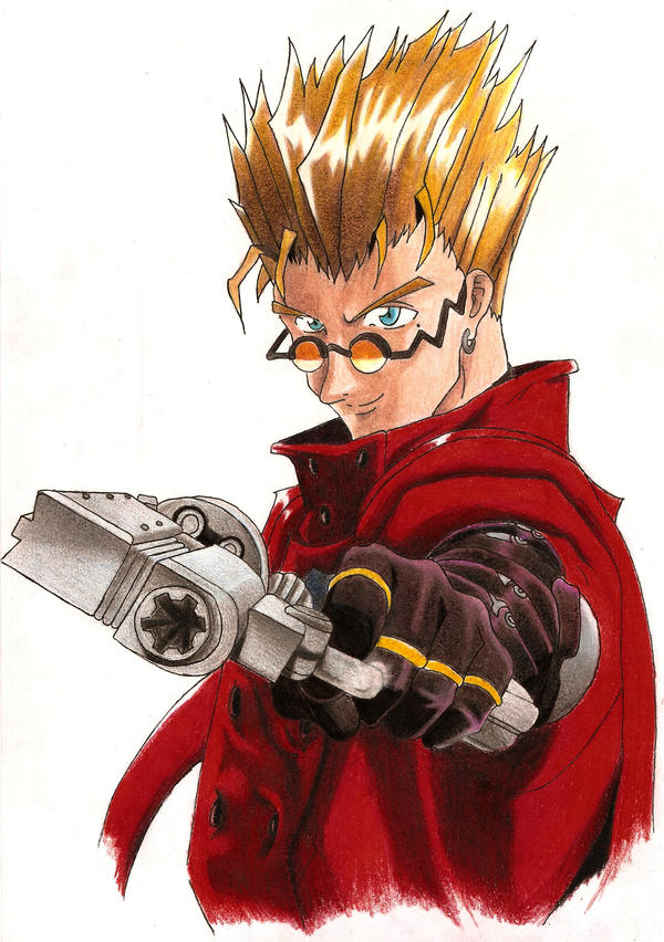 Vash the Stampede: Trigun by liltiffy107