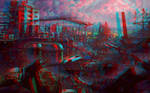 Ruins 3D Anaglyph Red Cyan