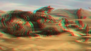 Desert 3D Anaglyphe
