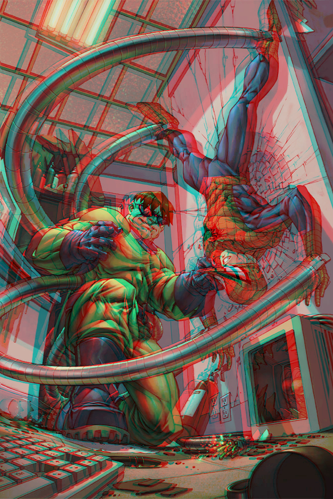 Doctor Octopus Spider Man Marvel by Fan2Relief3D