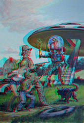 Mars Attacks Conversion 3D by Fan2Relief3D