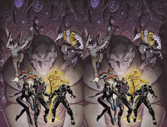 Venom Secret Avengers cross view by Fan2Relief3D