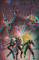 Venom Secret Avengers Conversion 3D by Fan2Relief3D