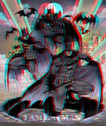 Batman Conversion 3D by Fan2Relief3D