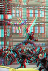 Ninjak Vs The Valiant Bob Layton Conversion 3D by Fan2Relief3D