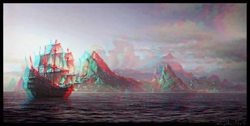 Paysage Conversion 3D by Fan2Relief3D