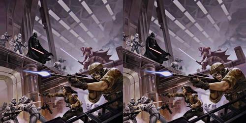 Star wars Cross View 3D by Fan2Relief3D