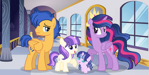 MLP [Next-Gen] Twilight Sparkle Family