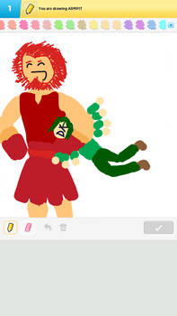 Waver, Rider, and the Armpit (Draw Something)