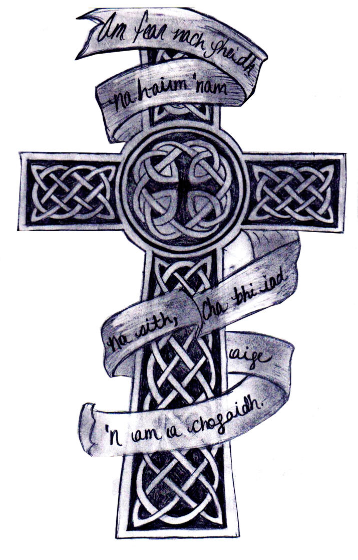 Celtic cross by kkbaby101 on deviantart celtic cross by kkbaby101 voltagebd Images