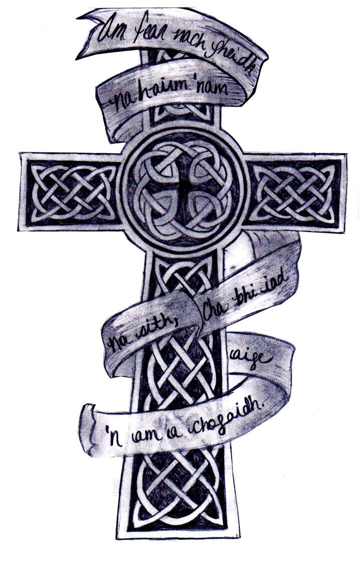 Gaelic Cross Tattoo Designs