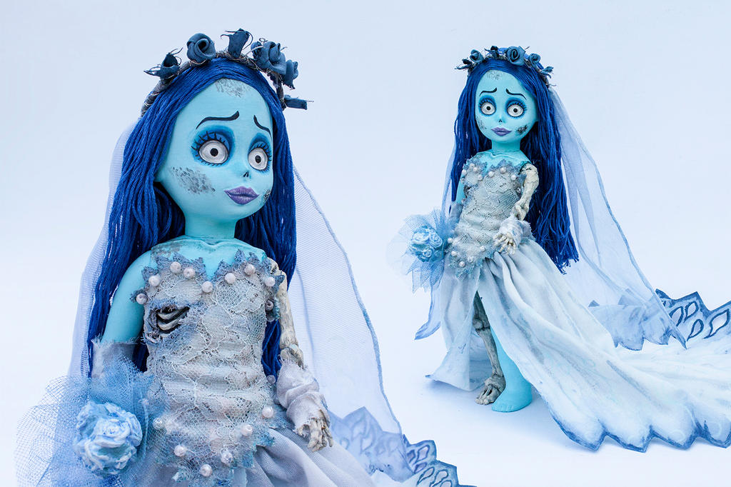 Emily from Corpse Bride (Living Dead Dolls custom) by SourGirlsDolls