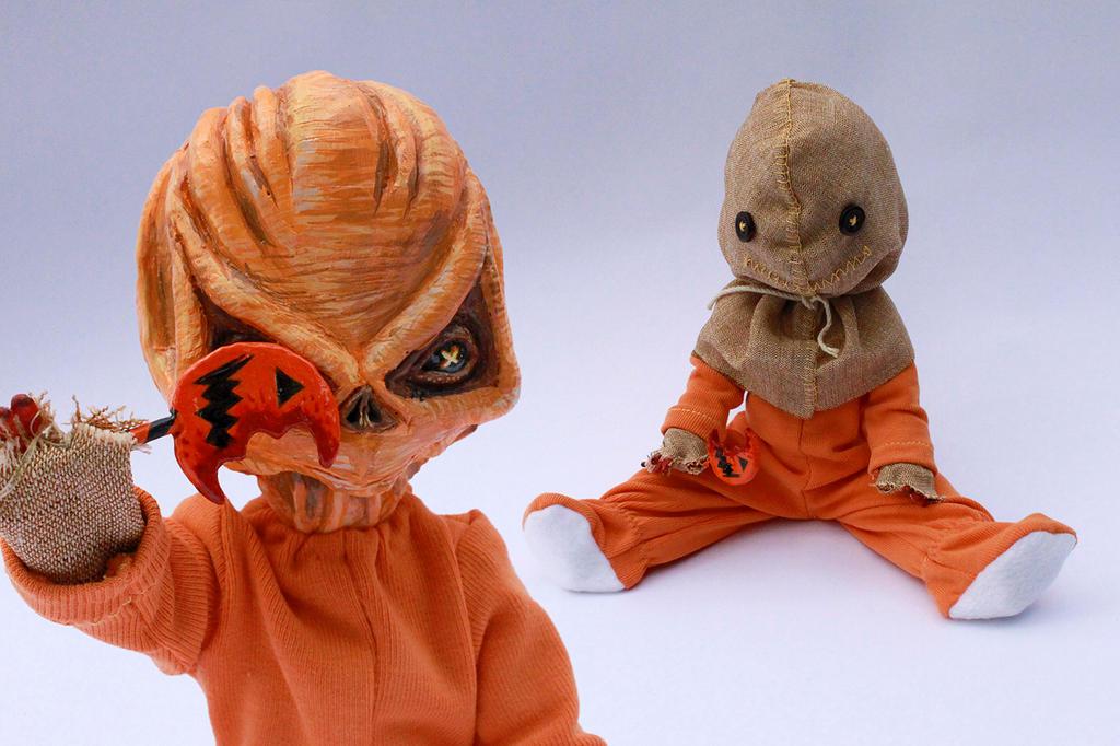 Sam from Trick 'r Treat (Living Dead Dolls custom) by SourGirlsDolls