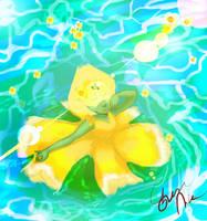 Daffodils of Peridot by AzureNika