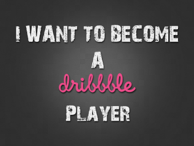 Want to join Dribbble :) by TheBraach
