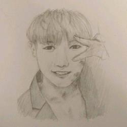 Wonho  by ShockedBerry