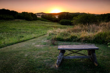 bench for rest