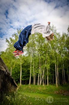 Parkour jump