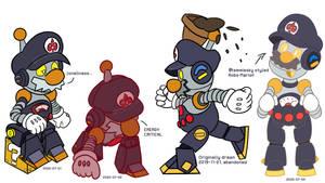 SDAdoodlezIIDX 5th style - Assorted Robo Marios